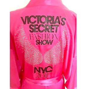 Victoria's Secret Fashion Show Robe NYC